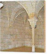 Monastery Of St. Bernard De Clairvaux 3 Wood Print