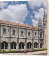 Monastery Of The Hieronymites Lisbon 5 Wood Print