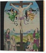 Mond Crucifixion Wood Print