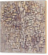 Mondrian: Composition, 1913 Wood Print