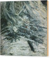 Monet Camille Monet On Her Deathbed Wood Print