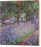 Monet: Giverny, 1900 Wood Print