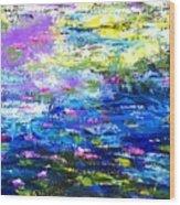 Monet Magic Wood Print