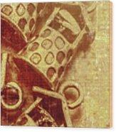 Monetary Wells Wood Print