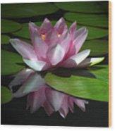 Monet's Muse Wood Print