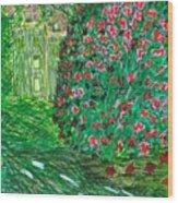 Monet's Parc Monceau Wood Print