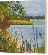 Monford Point Wood Print