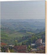 Monforte - Regione Peimonte Wood Print