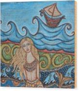 Monique Mermaid Wood Print