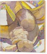Monkey Bait Wood Print
