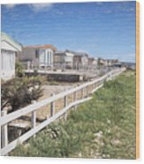 Monmouth Beach - Impressions Wood Print