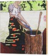 Monobo Chores Wood Print