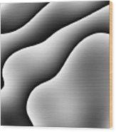 Monochrome 37 Wood Print