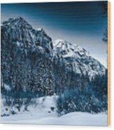 Monochrome Morning Wood Print