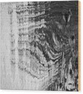Monochrome Water Wood Print
