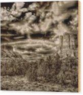 Monolith Wood Print
