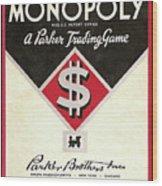 Monopoly Wood Print