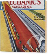 Monorail, C1940 Wood Print