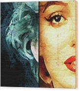 Monroe Panel A Wood Print