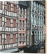 Monschau Hotel Wood Print