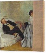 Monsieur And Madame Edouard Manet Wood Print