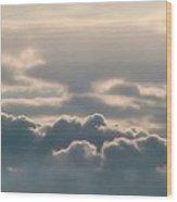 Monsoon Clouds Wood Print