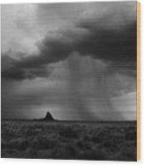Monsoon Wood Print