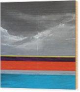 Monsoon Sky Wood Print