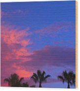 Monsoon Sunset Wood Print by James BO  Insogna
