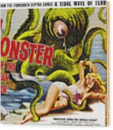 Monster From The Ocean Floor, Anne Wood Print by Everett