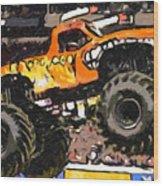 Monster Jam El Toro Loco Wood Print