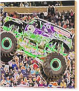 Monster Jam Orlando Fl Wood Print