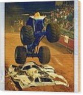 Monster Truck 1a Wood Print