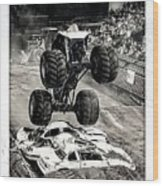 Monster Truck 1b Wood Print