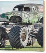 Monster Truck 4 Wood Print