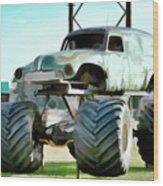 Monster Truck 6 Wood Print