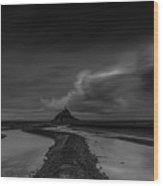 Mont Saint Michel 2  Wood Print