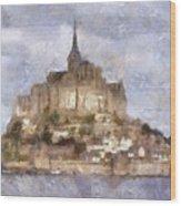 Mont Saint-michel, Normandy, France Wood Print