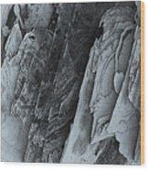 Montagne Wood Print
