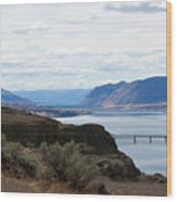 Montana Bridge Wood Print