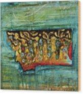 Montana Brookie Wood Print