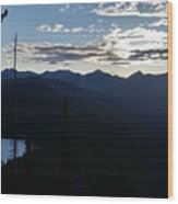 Montana Majesty Wood Print
