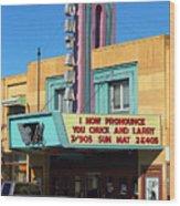 Miles City Montana - Theater Wood Print
