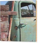 Montana Truck Wood Print