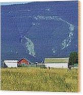 Montana Whispers Wood Print