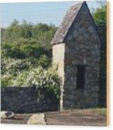Montauk Guard House 2 Wood Print