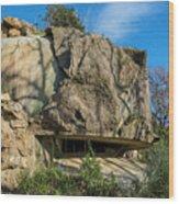 Monte Moro Bunkers - Bunkers Monte Moro Wood Print