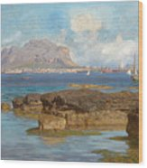Monte Pellegrino Wood Print
