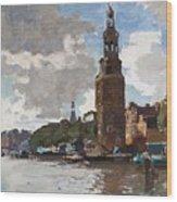 'montelbaanstoren' In Amsterdam By Cornelis Vreedenburgh Dutch 1880-1946 Wood Print