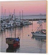 Monterey Bay Harbor Wood Print